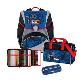 Школьный ранец Scout Alpha Воин с наполнением 4 предмета 744006973000