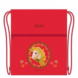 Мешок для сменной обуви Mike&Mar Лошадка Мелисса красный M032