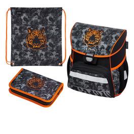 Школьный ранец Herlitz LOOP PLUS Tiger с наполнением 50020553-set