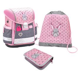 Школьный ранец Belmil Classy Bunny с наполнением 403-13/728/SET