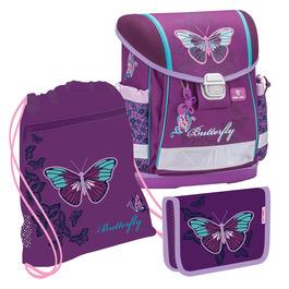 Школьный ранец Belmil Classy Butterfly с наполнением 403-13/633/SET