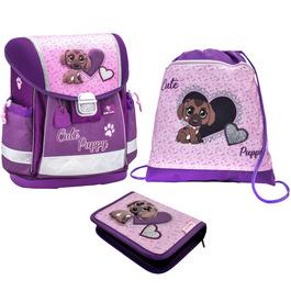 Школьный ранец Belmil Classy Cute Puppy с наполнением 403-13/720/SET