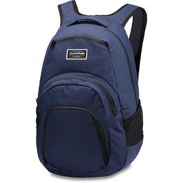 Рюкзак Dakine Campus 33L Dark Navy (темно-синий с оранжевой отделкой)