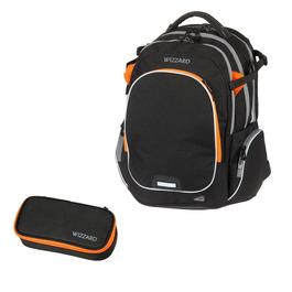 Школьный рюкзак Walker Campus Wizzard Black Melange 42114/180-set
