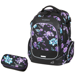 Школьный рюкзак Walker Campus Wizzard Flower Violet 42114/167-set