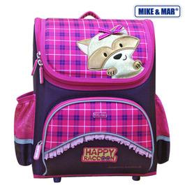 Школьный ранец Mike&Mar Енот фиолет / малиновый 1441-mm-127