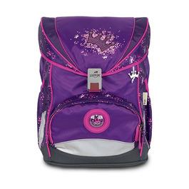 Школьный ранец DerDieDas ErgoFlex SuperLight Фиолетовая корона с наполнением 8403106