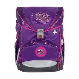 Школьный ранец DerDieDas ErgoFlex Фиолетовая корона с наполнением 8405106