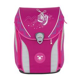 Школьный ранец DerDieDas ErgoFlex Max Розовые кроссовки с наполнением 8408117