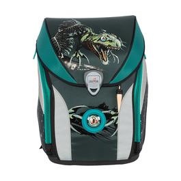 Школьный ранец DerDieDas ErgoFlex Max Атака динозавра с наполнением 8408120