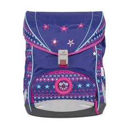 Школьный ранец DerDieDas ErgoFlex Этно звезды с наполнением 8405104
