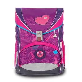 Школьный ранец DerDieDas ErgoFlex Бархатное сердце с наполнением 8405105