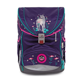 Школьный ранец DerDieDas ErgoFlex Exclusive LED Фантазия с наполнением 8405122
