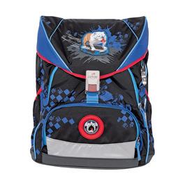 Школьный ранец DerDieDas ErgoFlex XL Пес на скейте с наполнением 8406112