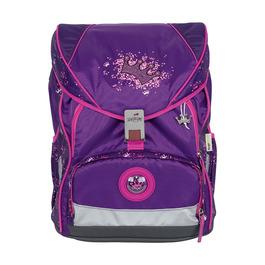 Школьный ранец DerDieDas ErgoFlex XL Фиолетовая корона с наполнением 8406106