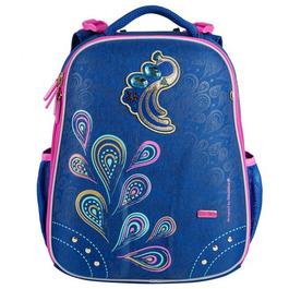 Школьный рюкзак Mike&Mar Жар Птица голубой / розовый кант 1008-176