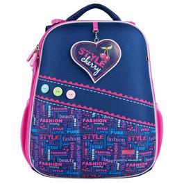 Школьный рюкзак Mike&Mar Стиль синий / малин 1008-177