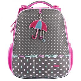 Школьный рюкзак Mike&Mar Зонтик серый / малиновый 1008-180