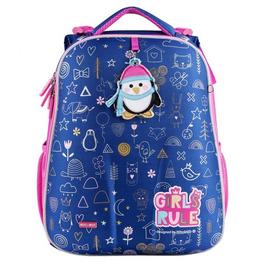Школьный рюкзак Mike&Mar Пингвин синий 1008-186
