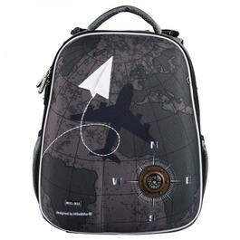 Школьный рюкзак Mike&Mar Самолет хаки 1008-189