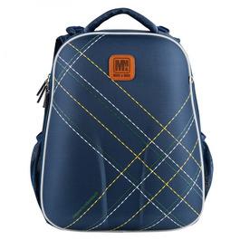 Школьный рюкзак Mike&Mar В клетку синий 1008-201