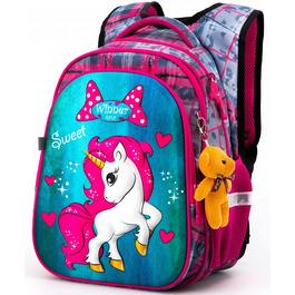 Школьный рюкзак Winner One R1-003 + брелок мишка