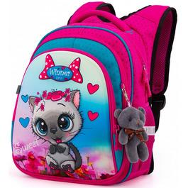 Школьный рюкзак Winner One R2-164 + брелок мишка