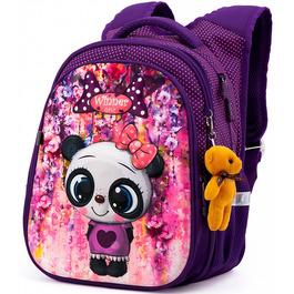 Школьный рюкзак Winner One R1-001 + брелок мишка
