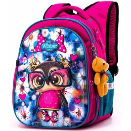 Школьный рюкзак Winner One R1-004 + брелок мишка