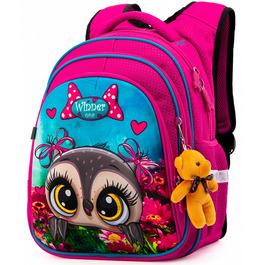Школьный рюкзак Winner One R2-161 + брелок мишка