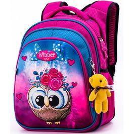 Школьный рюкзак Winner One R2-162 + брелок мишка