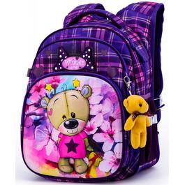 Школьный рюкзак Winner One R3-223 + брелок мишка