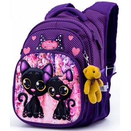 Школьный рюкзак Winner One R3-227 + брелок мишка