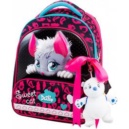Школьный ранец DeLune 9-123 + мешок + жесткий пенал + мишка + ленточка