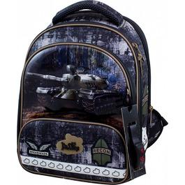 Школьный ранец DeLune 9-128 + мешок + жесткий пенал + часы