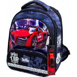 Школьный ранец DeLune 9-129 + мешок + жесткий пенал + часы