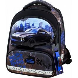 Школьный ранец DeLune 9-130 + мешок + жесткий пенал + часы