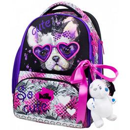 Школьный ранец DeLune 10-001 + мешок + мягкий пенал + мишка + ленточка