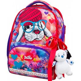 Школьный ранец DeLune 10-002 + мешок + мягкий пенал + мишка + ленточка