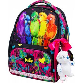 Школьный ранец DeLune 10-004 + мешок + мягкий пенал + мишка + ленточка