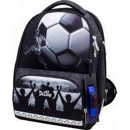 Школьный ранец DeLune 10-006 + мешок + мягкий пенал + часы