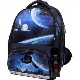 Школьный ранец DeLune 10-008 + мешок + мягкий пенал + часы