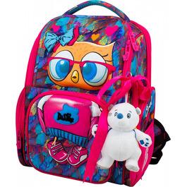 Школьный ранец DeLune 11-025 + мешок + мишка + ленточка
