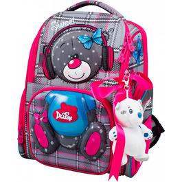 Школьный ранец DeLune 11-026 + мешок + мишка + ленточка