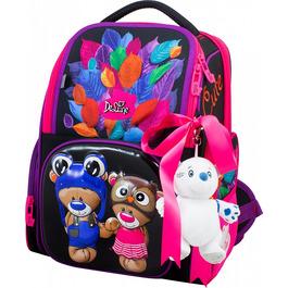 Школьный ранец DeLune 11-027 + мешок + мишка + ленточка