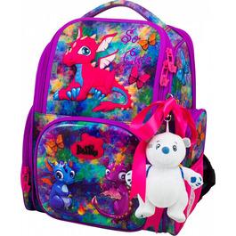 Школьный ранец DeLune 11-028 + мешок + мишка + ленточка