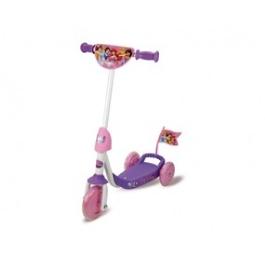 Детский самокат Smoby 3-х колесный из серии Disney Princess