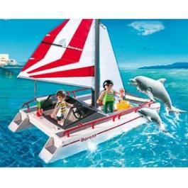 Playmobil Катамаран и дельфины