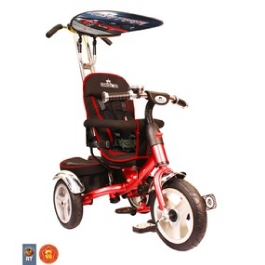 3-х колесный велосипед Rich Toys Lexus Trike original VIP 2013 red с надувными колесами