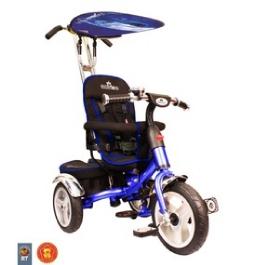 Rich Toys Lexus Trike original VIP 2013 blue с надувными колесами